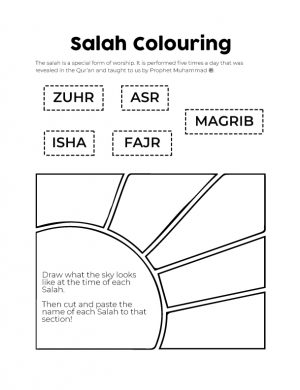 Salah-Colouring